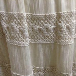 Drapers & Damons Skirts - Drapers & Damons Eyelash Lace Skit - Sz PXL Cream